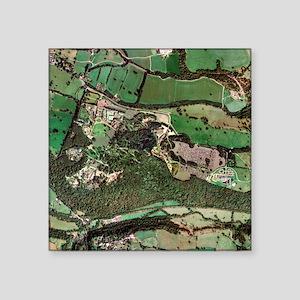 Alton Towers amusement park, aerial image - Square