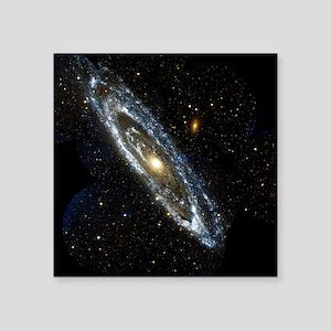 Andromeda Galaxy, UV image - Square Sticker 3