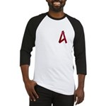 A is For Ribbon Baseball Jersey