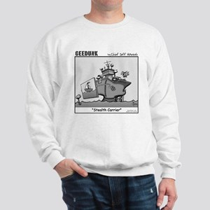 """Geedunk"" Cartoon Sweatshirt"