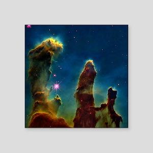 Gas pillars in the Eagle Nebula - Square Sticker 3