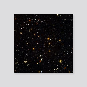 Hubble Ultra Deep Field galaxies - Square Sticker