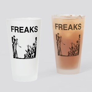 FREAKS design Drinking Glass