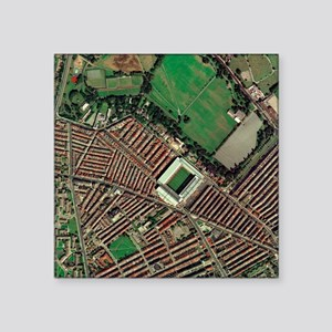 Liverpool's Anfield Stadium, aerial view - Square