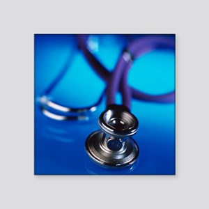 Stethoscope - Square Sticker 3