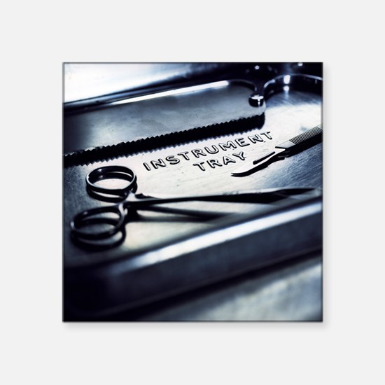Surgical equipment - Square Sticker 3