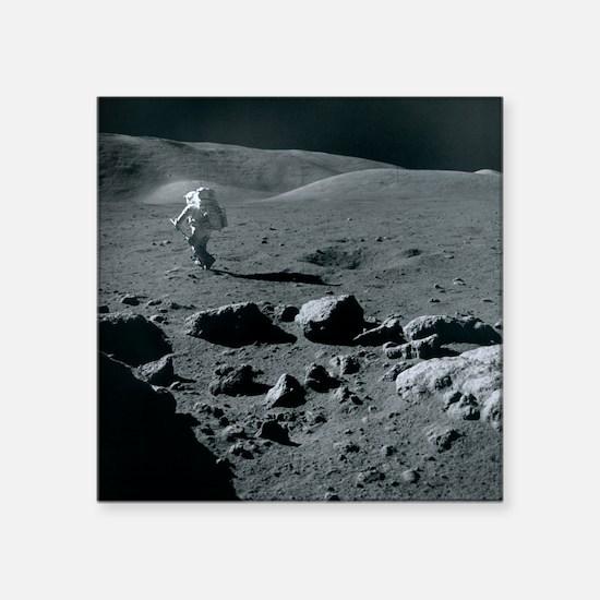 Apollo 17 astronaut - Square Sticker 3