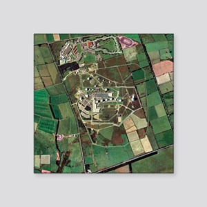 Menwith Hill spy base, aerial image - Square Stick