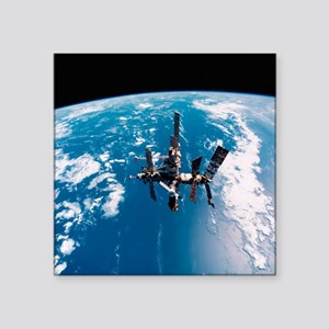 Mir space station - Square Sticker 3