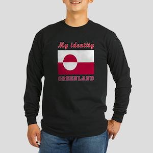 My Identity Greenland Long Sleeve Dark T-Shirt