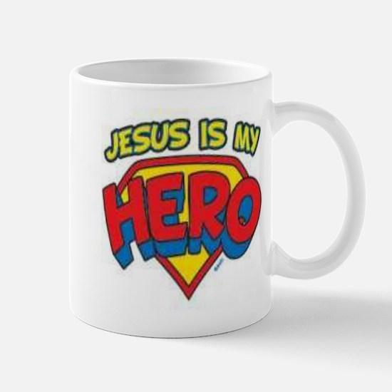 Jesus is my hero Mug
