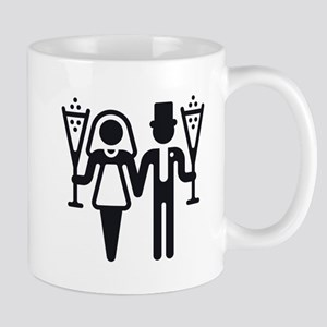 Bridal Pair With Sparkling Wine (Wedding) Mug