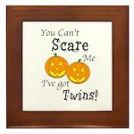 Can't Scare - Halloween Framed Tile