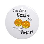 Can't Scare - Halloween Ornament (Round)
