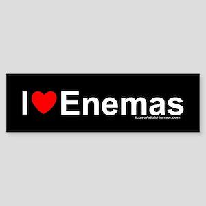 Enemas Sticker (Bumper)
