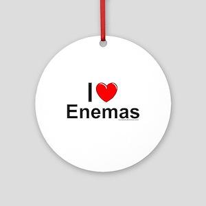 Enemas Ornament (Round)