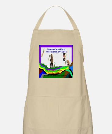 Obama Care Glitch 2013 Apron