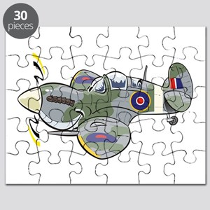 spitfire deadly cute guy Puzzle