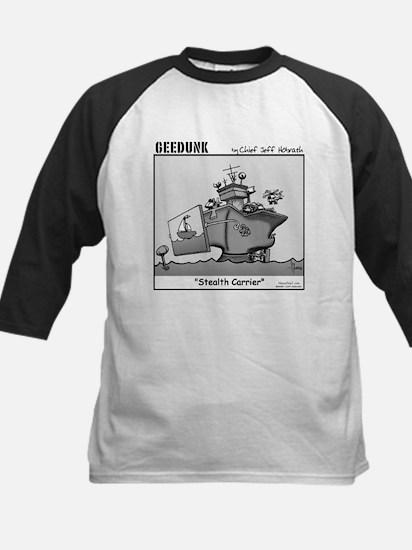 """""""Geedunk"""" Cartoon Kids Baseball Jersey"""