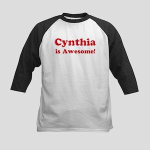Cynthia is Awesome Kids Baseball Jersey