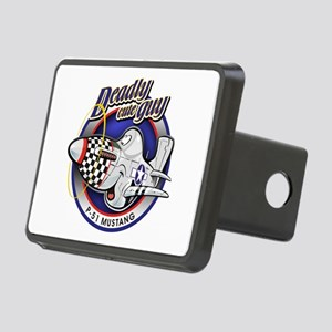 Deadly cute P-51 Mustang Hitch Cover