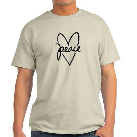 Peace Heart Light T-Shirt