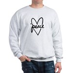Peace Heart Sweatshirt