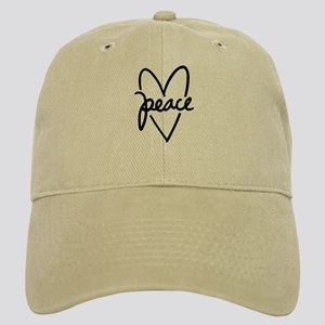 Peace Heart Cap