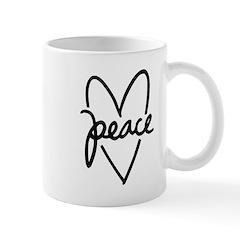 Peace Heart Mug