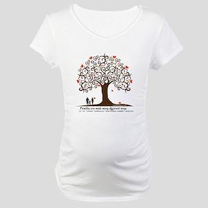 INFERTILITY FAMILY TREE Maternity T-Shirt
