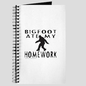 BIGFOOT ATE MY HOMEWORK Journal
