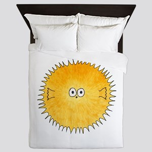 Pufferfish. Queen Duvet