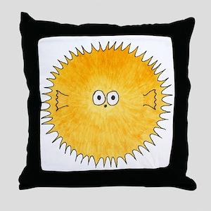 Pufferfish. Throw Pillow