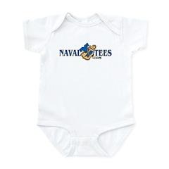 NavalTees Logo Infant Bodysuit