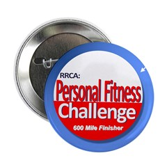 "600 Mile Personal Fitness 2.25"" Button"
