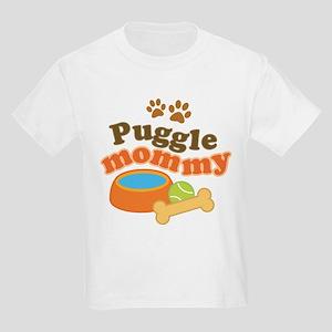 Puggle Mommy Dog Mom Kids Light T-Shirt