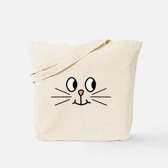 Cute Cat Face. Tote Bag