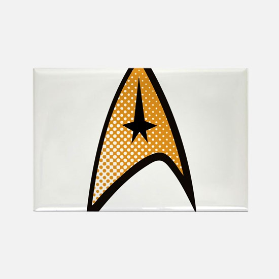 Star Trek Uniform Command Insignia halftone Rectan
