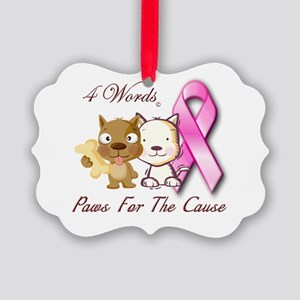 Paws for the Cause Ornament