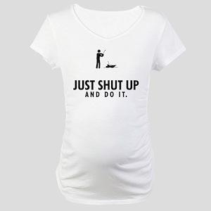 RC Boat Maternity T-Shirt