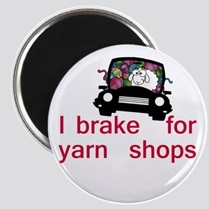 Brake for yarn shops Magnet