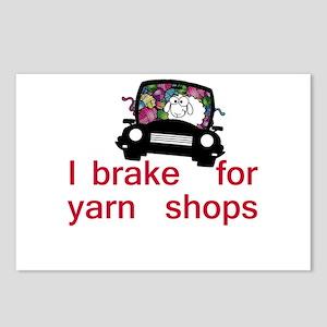 Brake for yarn shops Postcards (Package of 8)