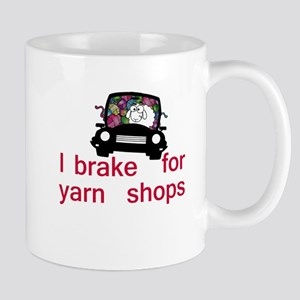 Brake for yarn shops Mug