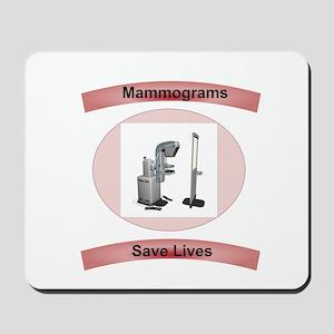 Mammograms Save Lives Mousepad