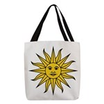 Sun of May Polyester Tote Bag