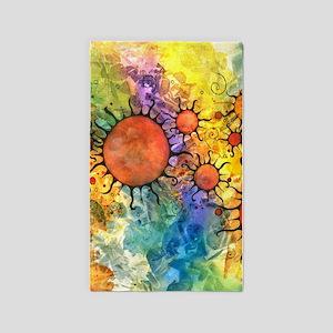 Primordial Suns 2 3'x5' Area Rug