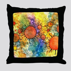 Primordial Suns 2 Throw Pillow