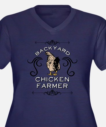 Backyard Chicken Farmer Plus Size T-Shirt