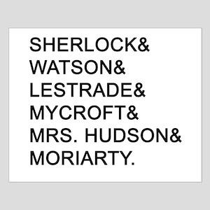 Sherlock Names Posters