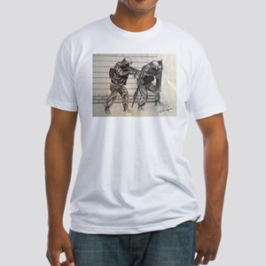 Police Tactics Fitted T-Shirt